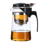 Le verre bouilloire à thé verseuse en verre Brosilicate théière avec infuser