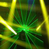 アニメーション1W-3W RGB専門DJのナイトクラブの段階のレーザー光線