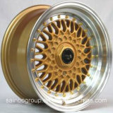 bordas da roda da liga do carro do BBS 15-18inch