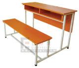 Het Dubbele Bureau & de Stoel van uitstekende kwaliteit van de Student van de School