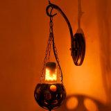 A verdadeira cor de fogo efeito chama a lâmpada LED