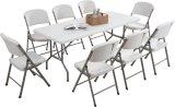 Table pliante plastique 6FT, table portable pour événement extérieur