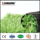 Relvado que ajardina a grama artificial chinesa do aquário barato do jardim