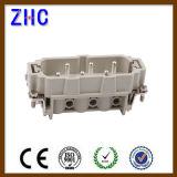 Maschio di Pin di Pin 12 di serie 6 di HSB e connettore resistente elettrico femminile del terminale di vite