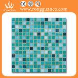 Mezcla verde mosaico de vidrio para piscina y jacuzzi