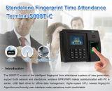 GPRS (5000TC/GPRS)のカラースクリーンの指紋の時間出席