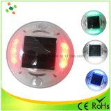 Solar de plástico de Ojos de Gato LED parpadeando Road Stud