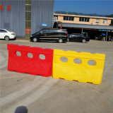 白い回転交通安全のバリケードの一時バリケードの構築安全バリケードのプラスチックバリケード