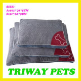 Het zachte Comfortabele Kussen van de Hond van het Fluweel (WY1610131-3A/B)