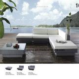 Sofá sintético da mobília do Rattan do hotel popular do pátio do projeto ajustado (YT481-1)