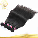 中国安い卸し売りRemyの未加工加工されていなくまっすぐなインドの女性のバージンの黒の人間の海外毛のよこ糸