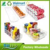 명확한 쌓을수 있는 냉장고 궤 및 냉장고 서랍 저장 조직자