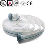 Preço da tubulação de mangueira do incêndio do revestimento do dobro da lona do PVC de 6 polegadas