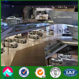 Exposición ligera pasillo del coche del acero 4s con alta calidad