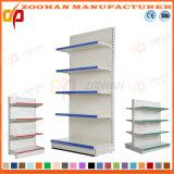 Scaffalatura di parete d'acciaio personalizzata Manufactured del negozio del supermercato (Zhs593)