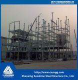 Buena calidad y estructura de acero barata para la fábrica de la central eléctrica