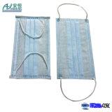 Suministros médicos disponibles mascarilla no tejida de Earloop de 3 capas