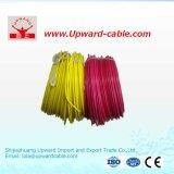 Fio elétrico de cobre do tipo sólido (1,5mm2 com isolamento de PVC)
