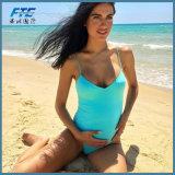 2017 Zwempak van de Bikini van de Slijtage van het Strand van de Vrouwen van de douane het Rijpe