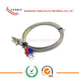 Tipo aislado Teflon K del alambre del termocople