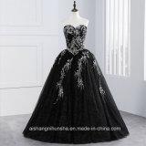 Tulle mit Goldstickerei-wulstigem Ballkleid-Hochzeits-Kleid