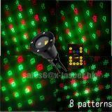 Im Freienstern-Laserlicht mit entfernter Station, Laser-Weihnachtslicht-im Freien 2017 neue Produkte