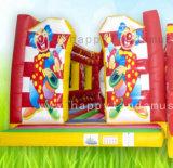 Надувной замок в стиле Bouncer красочный клоун для переходов