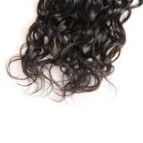 도매 100% 사람의 모발 물결파 처리되지 않은 Remy 브라질 머리 연장
