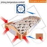 Almofada de resfriamento + ventilador de sistema de resfriamento evaporativo para a exploração de aves de capoeira
