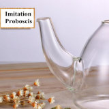Teiera di vetro della bevanda di vetro di Borosilicate del POT del tè della cristalleria trasparente