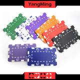 11.5g - 32g粘土/ポーカー用のチップステッカーが付いている顧客用さまざまなカラーカジノチップまたはロゴ(YM-CP024-25)を印刷できる