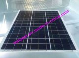 50Wp portable pequeños paneles solares Sillicon policristalino o monocristalino con Panel Solar PV MÓDULO y MÓDULO Solar