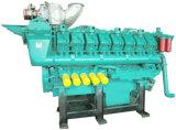 двигатель 1500kw Googol тепловозный морской с коробкой передач