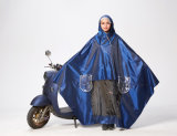 Erwachsene Form faltbarer Belüftung-doppelter Regenmantel für Motorrad