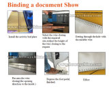 A3 hojas de papel A4 Eléctrico Booklet Maker mueren la perforación y 2: 1 & 3: 1 Doble Enlace de cable