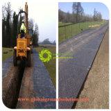 Kundenspezifische temporäre Straßen-Matte des Schwarz-Color/100% mit für schützende Straße für Europa
