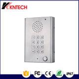 Sistema de sala limpia de teléfono de emergencia Teléfono Sos Knzd-29 de Seguridad