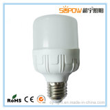 Éclairage à LED en plastique Fabrication directe E27 B22 ampoules LED 10/15/20/30/40W 85-265V