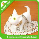 OEM van de Manier van het Beeldverhaal van de kat de Acryl Zeer belangrijke Keten van het Ontwerp (slf-AK005)