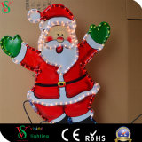 산타클로스 실내 크리스마스 훈장을%s 제 2 색칠 빛