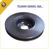 ISO/Ts16949 de Gediplomeerde CNC Stootkussens van de Rem van de Delen van de Machine Auto Voor