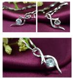 925 순은 항상 젊은 심혼 다이아몬드 목걸이 간단한 작풍 은 펜던트 목걸이