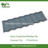 Металлический лист крыши с каменными чип бумага с покрытием (классического типа)