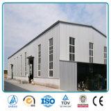 China contratistas de construcción rápida de bajo costo de la construcción de almacén de la estructura de acero prefabricados