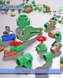 Encaixes de tubulação plásticos de China PPR
