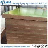 Preço barato papel de melamina diante da placa de MDF da China