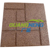 Interlocking Gym Matting, Outdoor Playground Rubber Flooring, Wearing-Resistant
