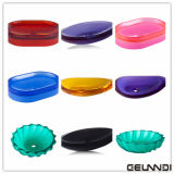 Tipos de Color Translucent Sanitary Ware Pure Acrylic Resin Bathroom Basin