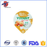 Tampa da folha de alumínio do uso do copo do Yogurt dos PP ou do picosegundo