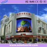 High Bightness Energy Saving Ce, RoHS, ETL, Placa de placa de exibição de LED fixa ao ar livre / interior fixa para publicidade no ginásio (P6. P8. P10, P16)